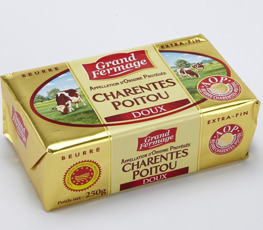 beurre AOP pour la pâte feuilletée et la viennoiserie