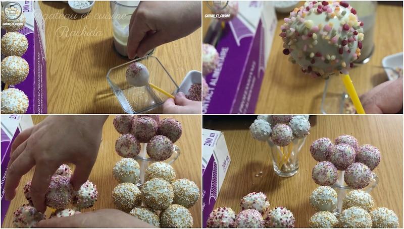 recette des cake pops pour anniversaire