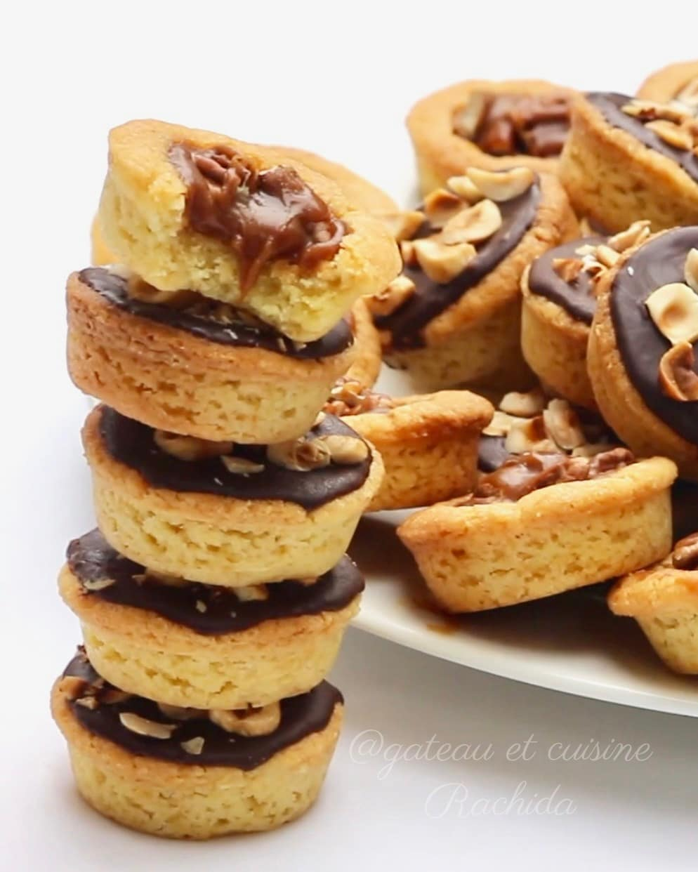 Mini tartelette chocolat caramel