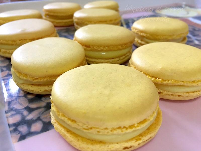 recette macaron citron pierre hermé