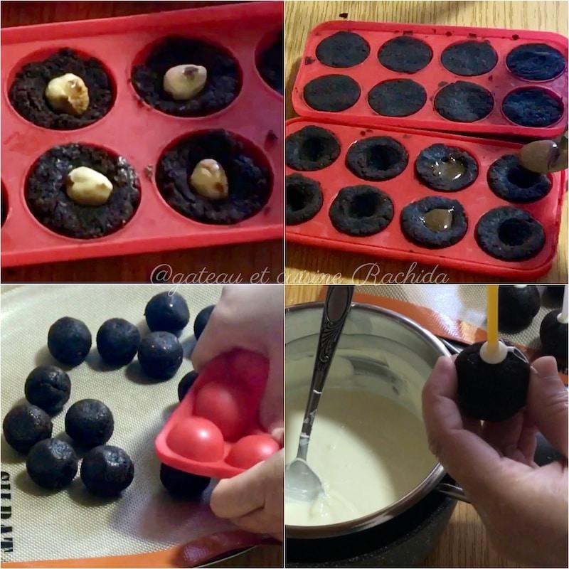 recette des cake pops au chocolat