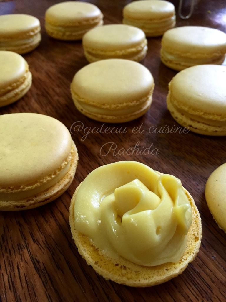 délicieux Macaron au citron