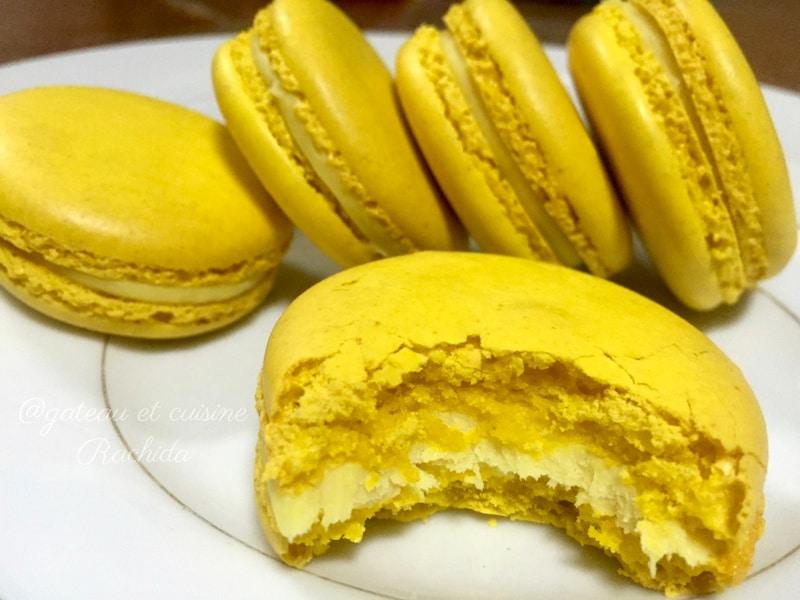 Macaron au citron pierre hermé