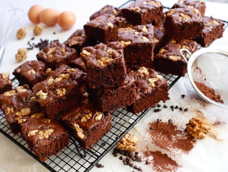 brownie au chocolat au yaourt facile et économique