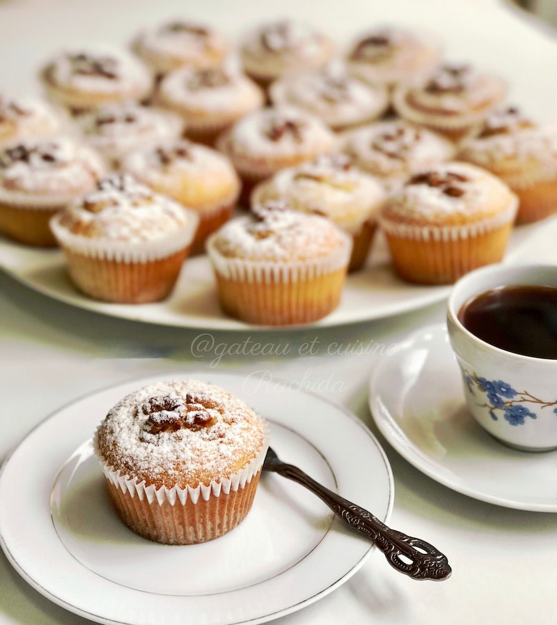 recette des muffins citron et noix moelleux et croquant